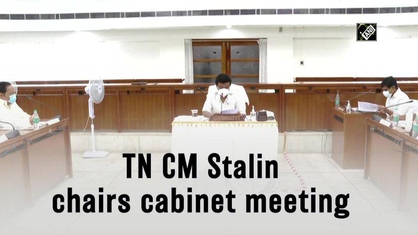 Tamil Nadu CM Stalin chairs Cabinet meeting