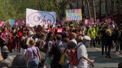 Marche pour le climat : des milliers de manifestants partout en France