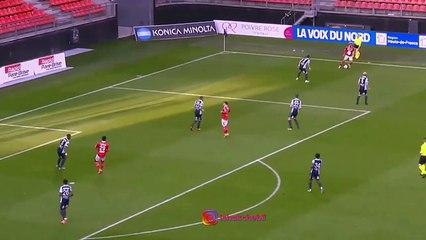 Le joli but du jeune talent algérien Aymen Boutouatou avec Valenciennes