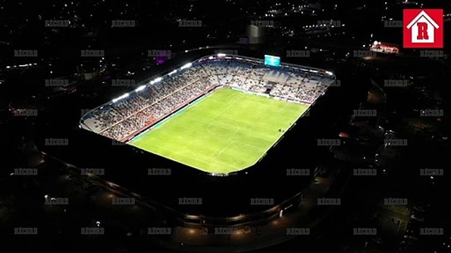 Así de espectacular se vio el Estadio Hidalgo en el Pachuca vs Chivas