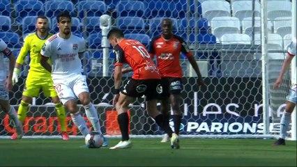 Le résumé de la rencontre Olympique Lyonnais - FC Lorient (4-1) 20-21