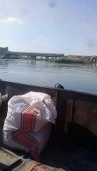 معابر التهريب المائية شرق الفرات