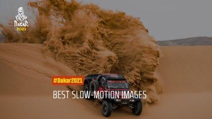 #Dakar2021 - Best slow-motion images!