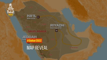 #Dakar2022 - The official route!
