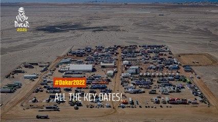 #Dakar2022 - All the key dates