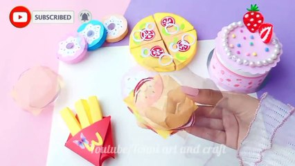 how to make bakery set - DIY Cute Bakery Set - homemade bakery set without cardboard- diy paper toy