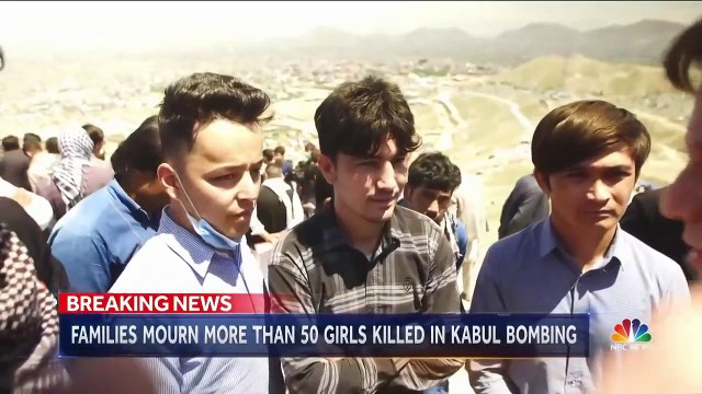 Girls Killed in Afghanistan School Bombing Laid To Rest