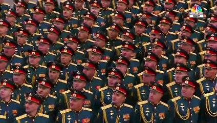 Russia Displays Military Might in Annual Victory Day Parade
