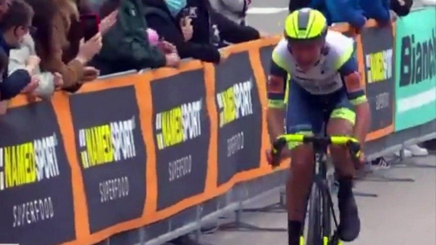 Cycling - Giro d'Italia 2021 - Taco van der Hoorn wins stage 3