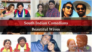 South Popular Comedians Wives: 22 Most Stunning   Beautiful Wives Of South Indian Comedians  