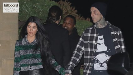 Travis Barker Goes All Out For Kourtney Kardashian on Mother's Day | Billboard News