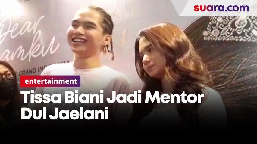 Debut Akting Perdana, Tissa Biani Jadi Mentor Dul Jaelani