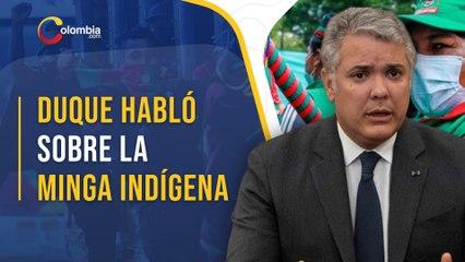 Protestas en Colombia: Iván Duque busca diálogo con la minga Indígena