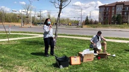Manifestation La Prairie 10 mai