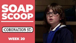 Coronation Street Soap Scoop - Sam is kidnapped