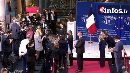Journée de l'Europe, déclaration du Président Emmanuel Macron