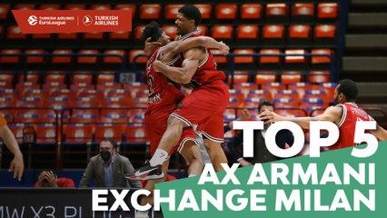 Top 5 Plays: AX Armani Exchange Milan