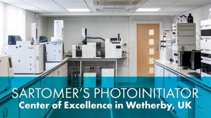 Sartomer Photoinitiator Center of Excellence