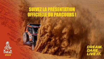 #Dakar2022 - La présentation officielle du parcours !