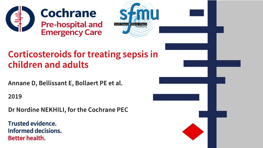 PEARL_Corticosteroide for sepsis