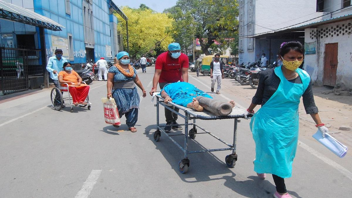 People dying with covid-like symptoms in rural Kanpur