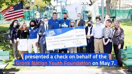 Rob Gronkowski Donates $1.2M To Renovate Playground in Boston
