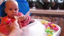 Babies Eating Lemons ?? Funny Kids Videos ?? Baby Popcy