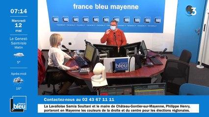 12/05/2021 - La matinale de France Bleu Mayenne