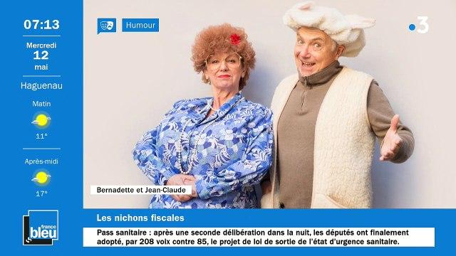 12/05/2021 - La matinale de France Bleu Alsace