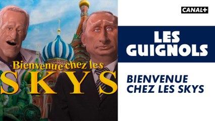 Bienvenue chez les SKYS - Les Guignols - CANAL+