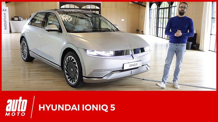 Hyundai Ioniq 5 : premier contact à bord du SUV électrique