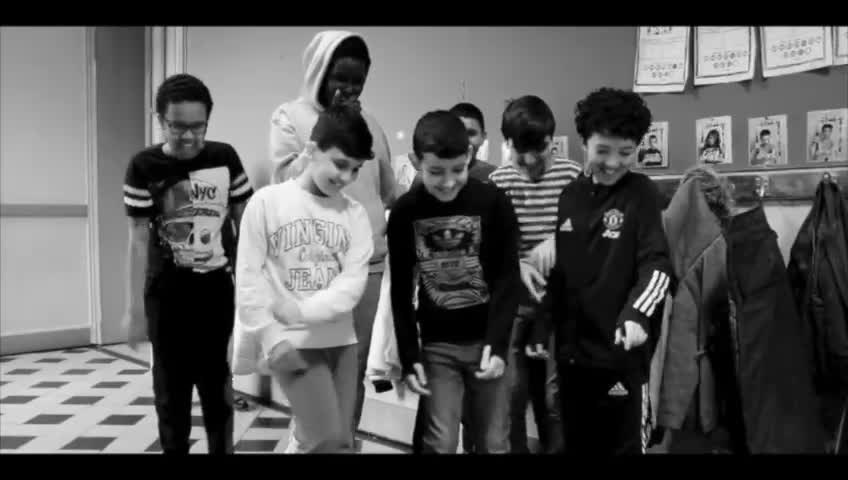 L'école de l'Est à Verviers se mobilise contre le harcèlement dans une vidéo