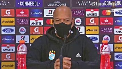 Reacciones del Sporting Cristal vs Racing: Roberto Mosquera   0-2   Conmebol Libertadores