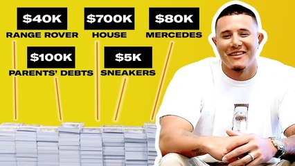 How Manny Machado Spent His First $1M in the MLB