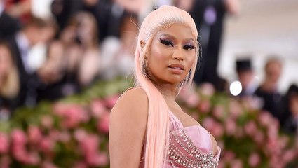Nicki Minaj Rocks Pink Crocs as She Hints at Her Comeback | Billboard News