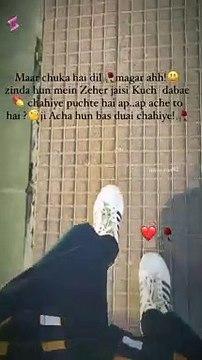 Mar chuka he dil Magar Aaahhha zindahu me Zaher jase letest video hot whatsapp Sastus 2021
