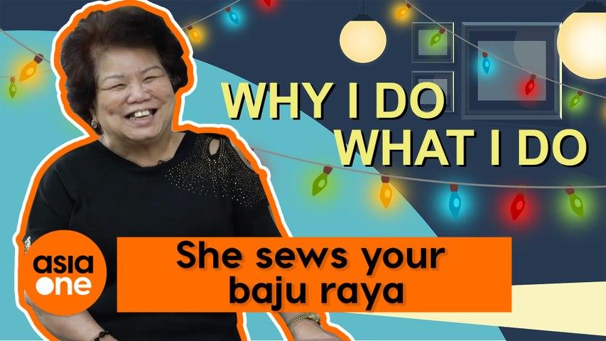 Why I Do What I Do: She's seen her customers grow up wearing her baju raya