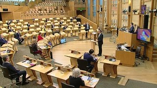 Scottish party leaders take oaths and affirmations