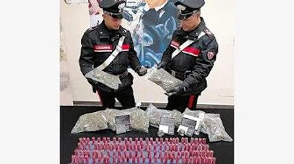 ✅  Droga: sostanza nascosta in scuola abbandonata, 11 arresti