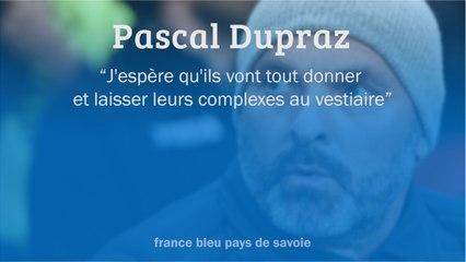 """Coupe de France - Pascal Dupraz, avant GFA Rumilly-Vallières / Monaco : """"j'espère qu'ils vont tout donner"""""""