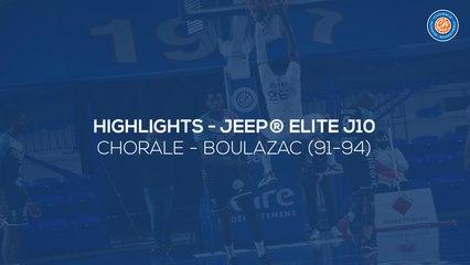 2020/21 Highlights Chorale - Boulazac (91-94, JE J10)