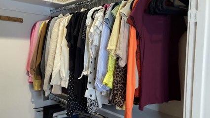 How a Professional Organizer Reorganizes a Small Closet