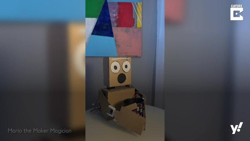 Roboter beherrscht Zaubertricks