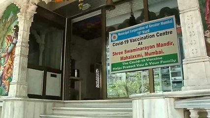 Good news: Temple and church turn into vaccination centers in Mumbai