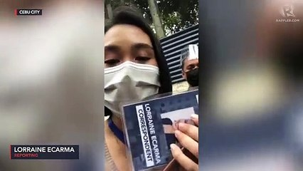 Rappler Cebu correspondent denied entry to Region 7 police office, accused as 'fake news outlet'