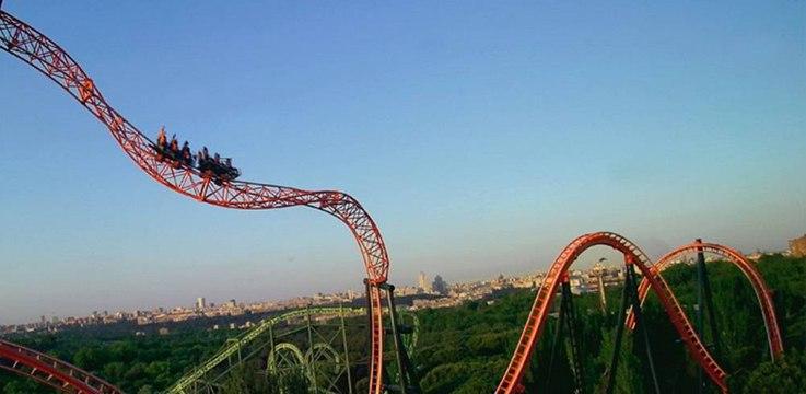 Parque de Atracciones de Madrid: 'Abismo'