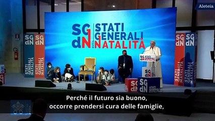 Papa Francesco apre gli Stati Generali  della Natalità
