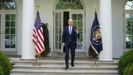 President Biden Says New Mask Guidance 'A Great Milestone'