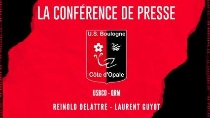 [NATIONAL] J34 Conférence de presse avant match USBCO - QRM