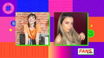 Julieta Nair Calvo y Mili Gesualdo en Fans En Redes
